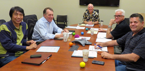 Merlin Switzer working with business leaders to strengthen their team