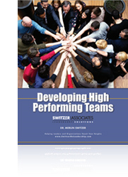 PDF cover: Developing High Performing Teams