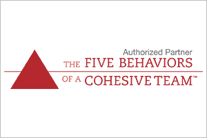 Five Behaviors of a Cohesive Team - authorized partner logo