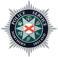 Dr. Merle Switzer worked with the Police Service of Northern Ireland whose badge is displayed here